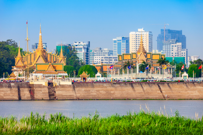 Phnom Penh was known as the Pearl of Asia during the French colonization of Cambodia.